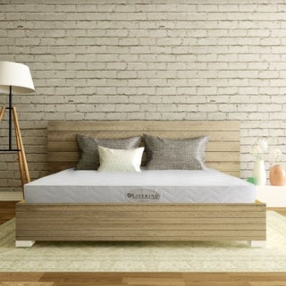 Lifekind Euro 7-inch Certified Organic Latex Mattress - Twin / Firm