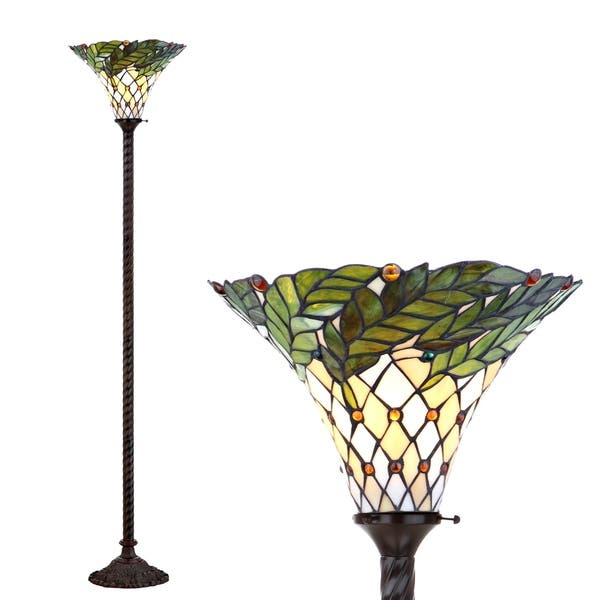 71 Torchiere Led Floor Lamp Bronze