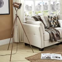 Langston Copper Adjustable Tripod Floor Lamp by iNSPIRE Q Artisan (As Is Item)
