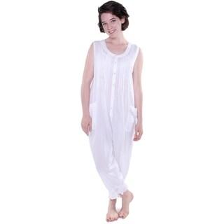 La Cera Women's Long Cotton Bloomer