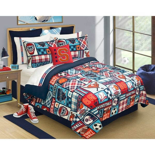 Sports Centre 3-piece Comforter Set