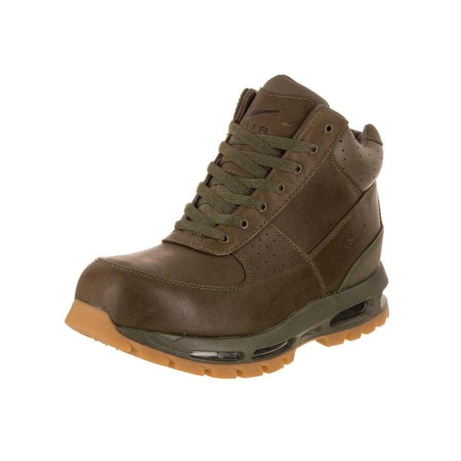 Nike Men's Air Max Goadome Boot (8.5), Green (leather)