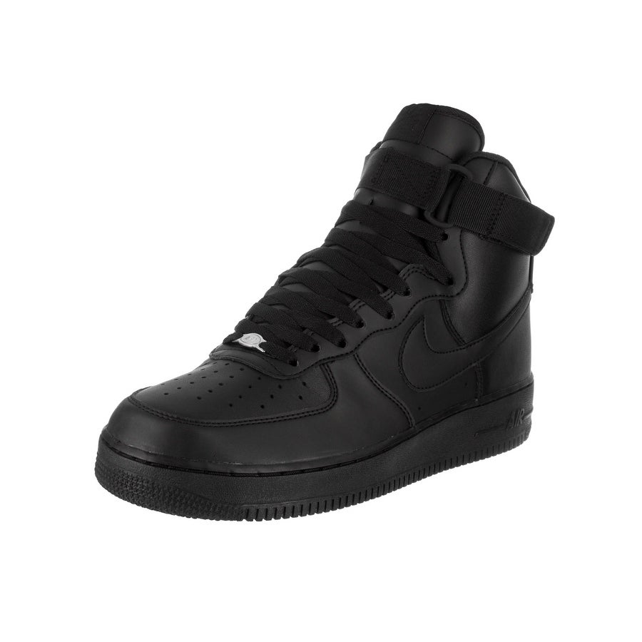 Nike Men's Air Force 1 High '07 Basketball Shoe (8.5), Bl...