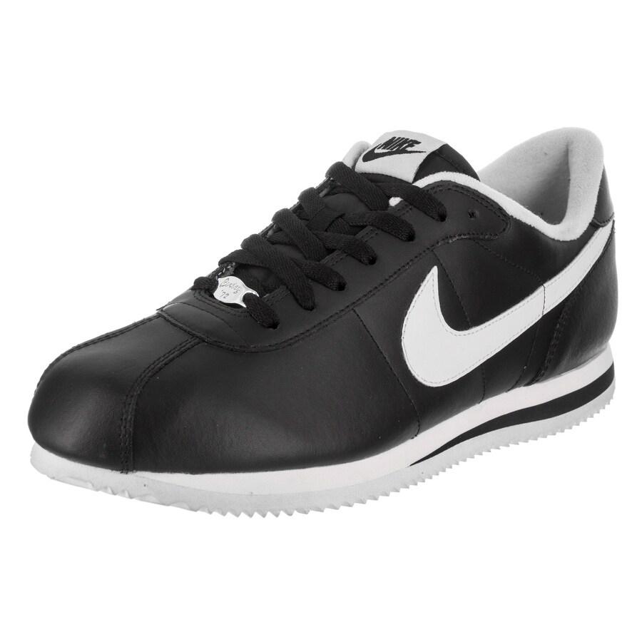 Nike Men's Cortez Basic Leather '06 Casual Shoe (13), Black