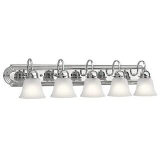 Kichler Lighting Traditional 5-light Chrome Bath/Vanity Light