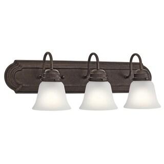 Kichler Lighting Traditional 3-light Tannery Bronze Bath/Vanity Light