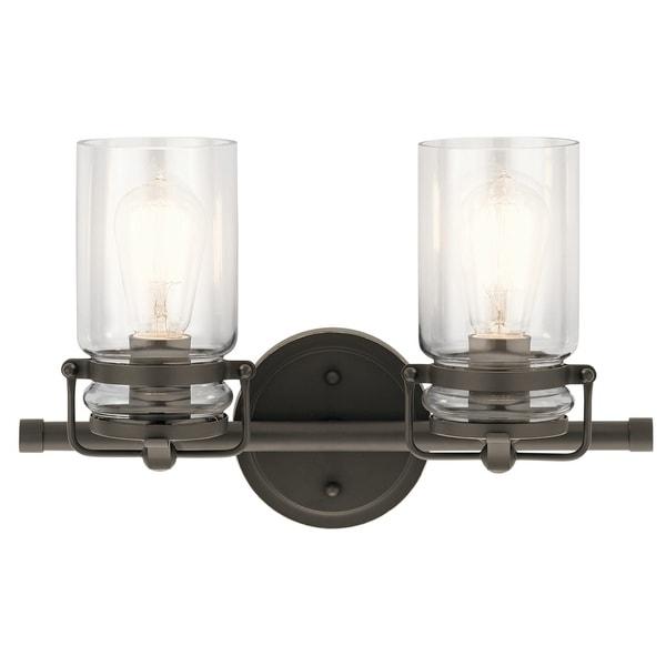 Kichler Lighting Lights: Shop Kichler Lighting Brinley Collection 2-light Olde
