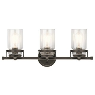 Kichler Lighting Brinley Collection 3-light Olde Bronze Bath/Vanity Light