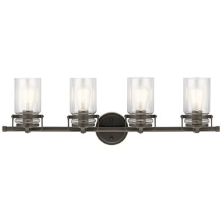 Kichler Lighting Brinley Collection 4-light Olde Bronze Bath/Vanity Light