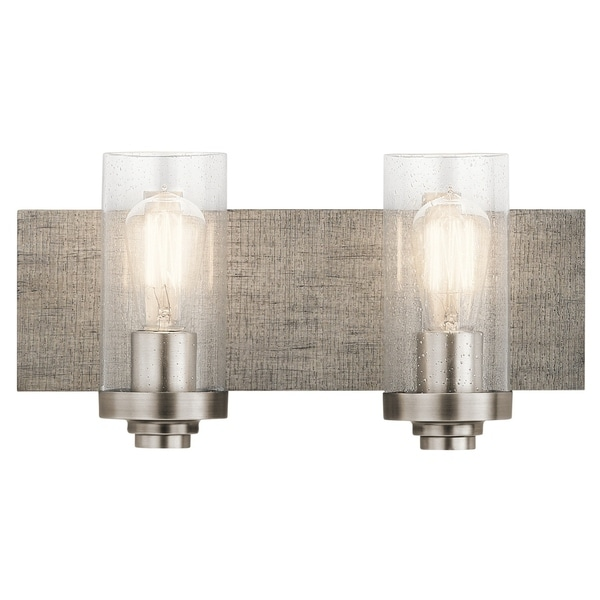 Shop Kichler Lighting Dalwood Collection 2-light Pewter