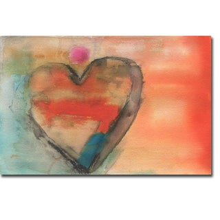 Sweethearts I by Michelle Oppenheimer Gallery-Wrapped Canvas Giclee Art