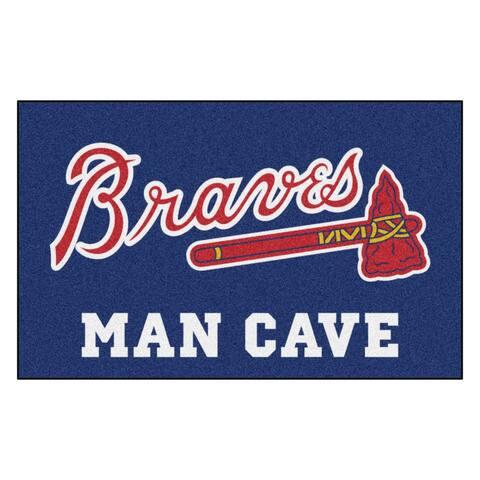MLB - Atlanta Braves Man Cave UltiMat 5'x8' Rug