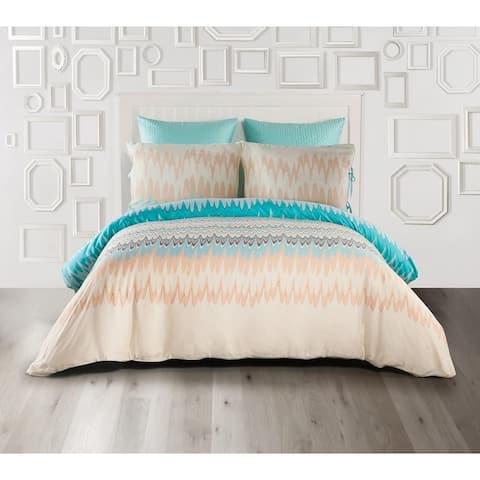 Kensie Ginny 100% Cotton Duvet Cover Set - Multi