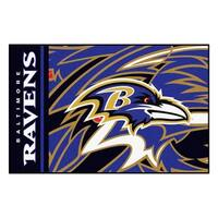 "NFL - Baltimore Ravens  Starter Rug 19""x30"""