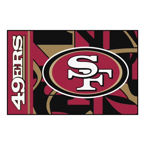 "San Francisco 49ers Starter Rug 19""x30"""