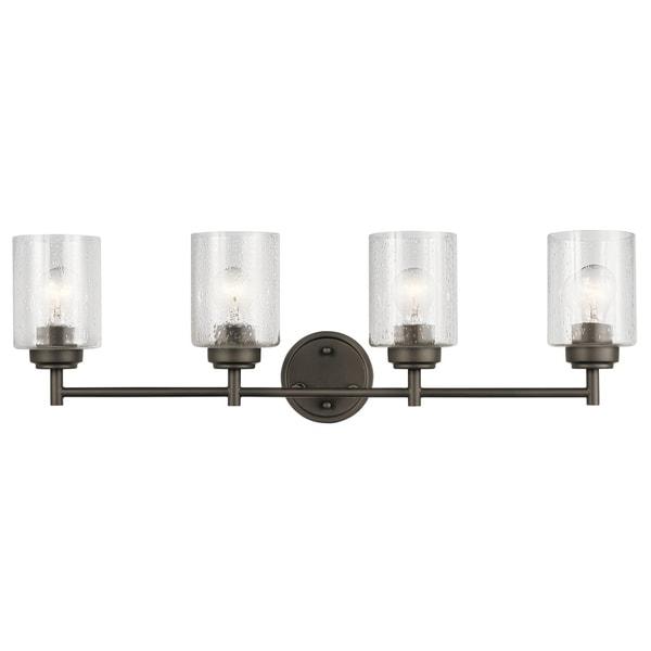 Kichler Lighting Lights: Shop Kichler Lighting Winslow Collection 4-light Olde