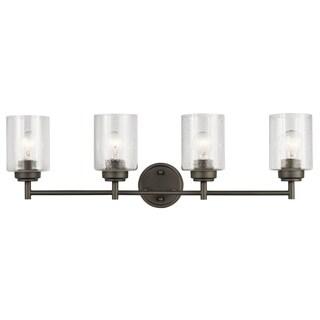 Kichler Lighting Winslow Collection 4-light Olde Bronze Bath/Vanity Light