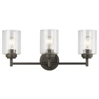 Kichler Lighting Winslow Collection 3-light Olde Bronze Bath/Vanity Light