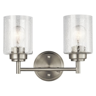 The Gray Barn Saffron 2-light Brushed Nickel Bath/Vanity Light - Brushed nickel