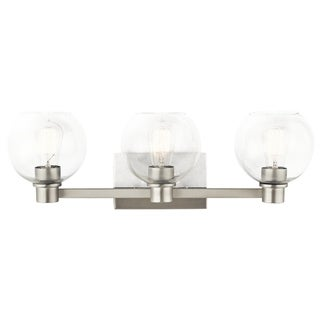 Kichler Lighting Harmony Collection 3-light Brushed Nickel Bath/Vanity Light