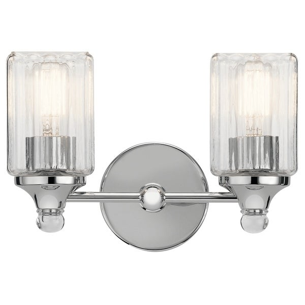 Kichler Lighting Reviews: Shop Kichler Lighting Riviera Collection 2-light Chrome
