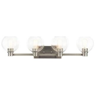 Kichler Lighting Harmony Collection 4-light Brushed Nickel Bath/Vanity Light