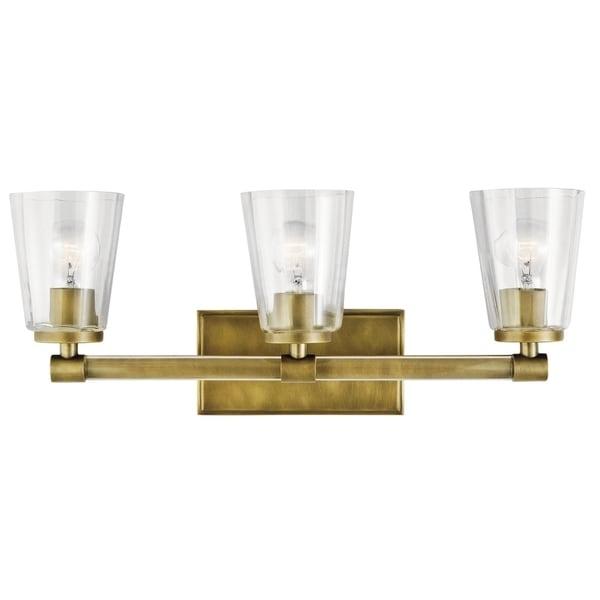 Kichler Lighting Reviews: Shop Kichler Lighting Audrea Collection 3-light Natural