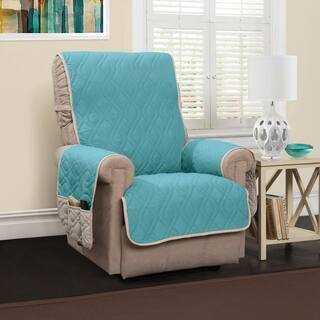 Buy Blue Recliner Covers Wing Chair Slipcovers Online At Overstock