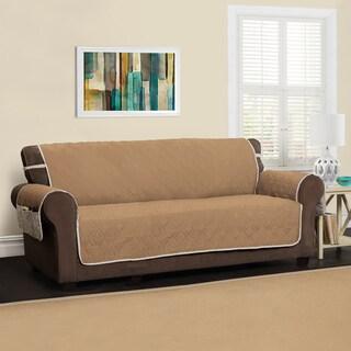 Innovative Textile Solutions 5 Star XL Sofa Protector Slipcover (Option: toast)