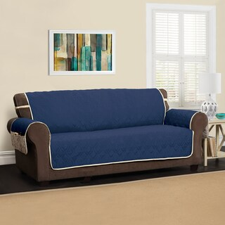 Innovative Textile Solutions 5 Star XL Sofa Protector Slipcover (Option: Navy)