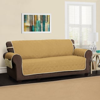 Innovative Textile Solutions 5 Star XL Sofa Protector Slipcover (Option: Gold)