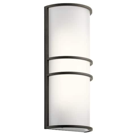 Kichler Lighting Transitional 2-light Olde Bronze LED Wall Sconce