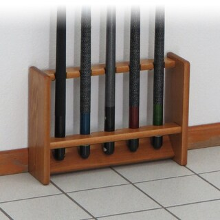 Pool Cue Rack, 5 Cue, 4 Finishes