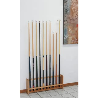 Pool Cue Rack, 10 Cue, 4 Finishes
