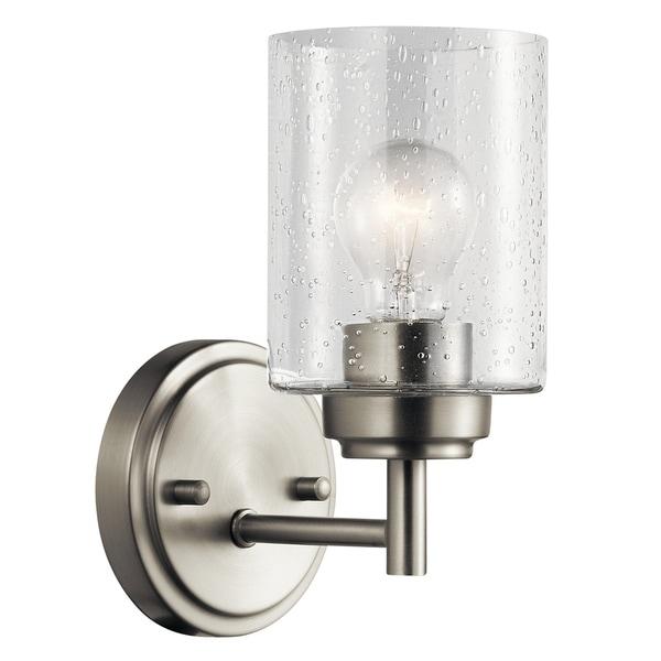 Kichler Lighting Reviews: Shop Kichler Lighting Winslow Collection 1-light Brushed