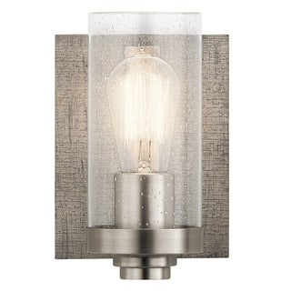 Kichler Lighting Dalwood Collection 1-light Pewter Wall Sconce