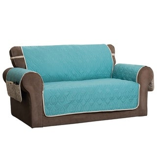 Link to ITS Reversible Waterproof 5 Star Loveseat Furniture Protector Similar Items in Slipcovers & Furniture Covers