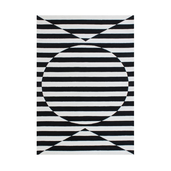 A stimulating optical illusion in the 3D design Rug - 8 x 10