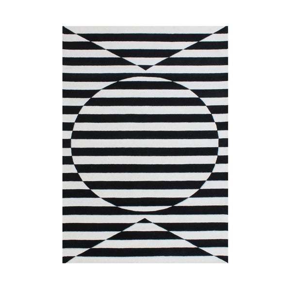 A stimulating optical illusion in the 3D design Rug 8x10