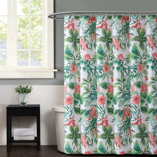 Christian Siriano Tropicalia Printed Shower Curtain