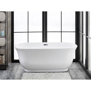 30 x 2 person japanese soaking tub. Julieta 67  x 30 Freestanding Acrylic Soaking Bathtub Tubs For Less Overstock com