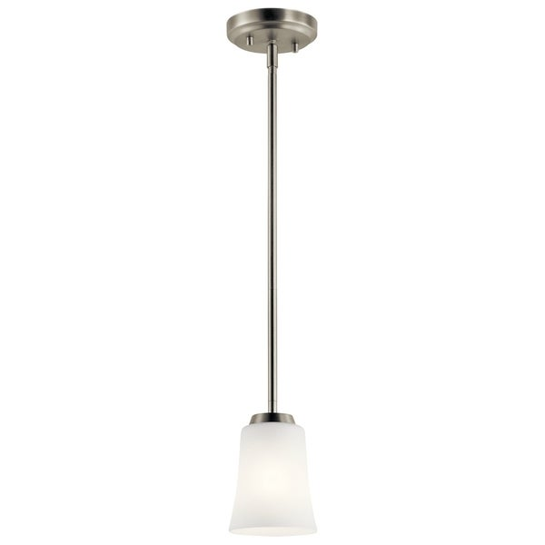 Kichler Lighting Tao Collection 1-light Brushed Nickel Mini Pendant