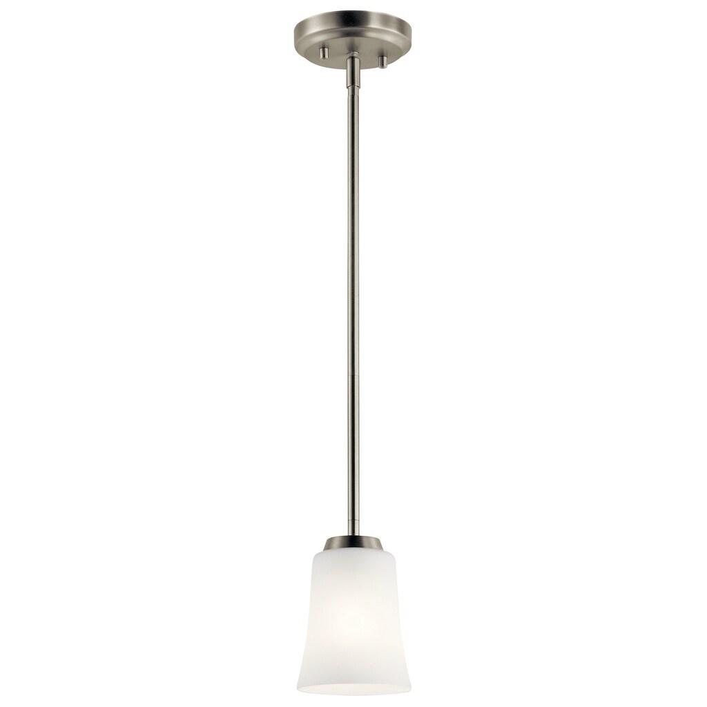 Laurel Creek Julian 1-light Brushed Nickel Mini Pendant