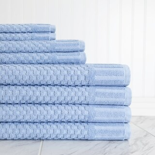 Milo Hotel Luxe 8 Piece Textured Towel Set
