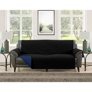Blissful Living Reversible Non Slip Couch Cover