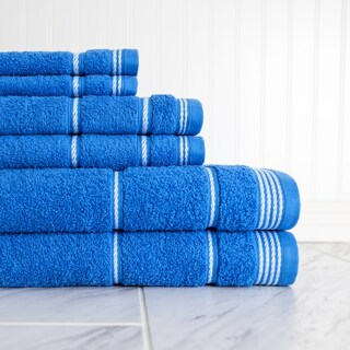 Highgate 6 Piece Towel Set (Option: Multi)