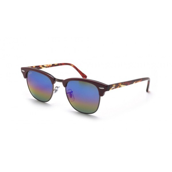 54870869d49 Shop RayBan Clubmaster Sunglasses - Purple - Medium - Free Shipping ...