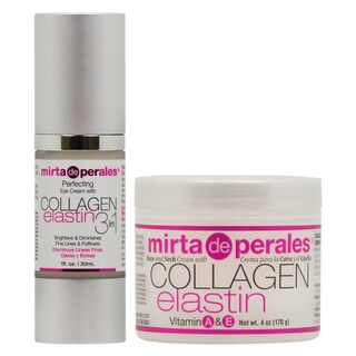 Mirta de Perales Collagen Elastin Eye Cream & Face and Neck Cream