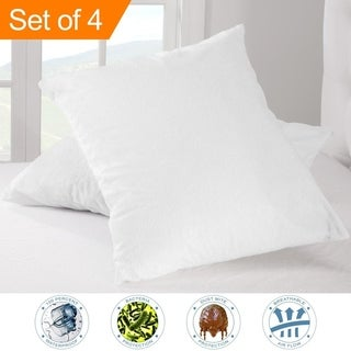 Premium Waterproof Pillow Protector (Set of 4)