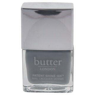 Butter London Patent Shine 10X Nail Lacquer Sterling